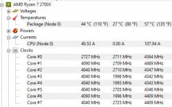 Mickey: 2700X boosting beyond 4.3GHz on its own? [​IMG]