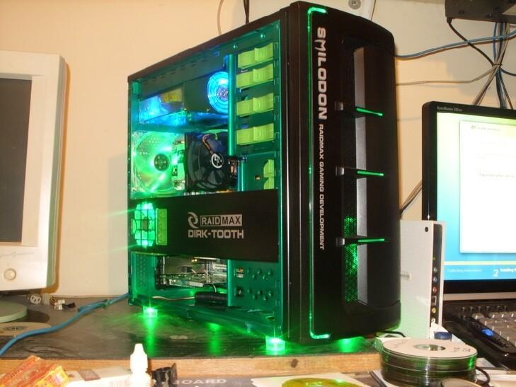 Case Gallery Extreme Green Smilodon Techpowerup Forums