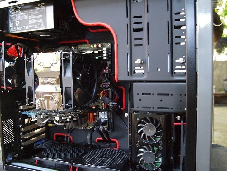 Case Gallery Simple Lian Li Rig Techpowerup Forums