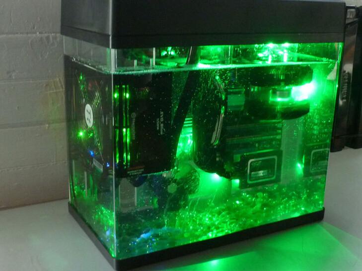 Case Gallery Oil Submerged Htpc Mark Ii Techpowerup