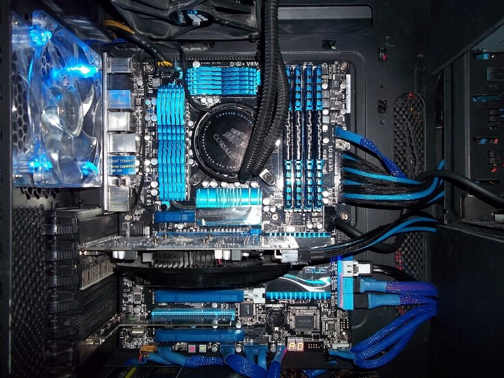 Case Gallery Haf 932 Blue Techpowerup Forums