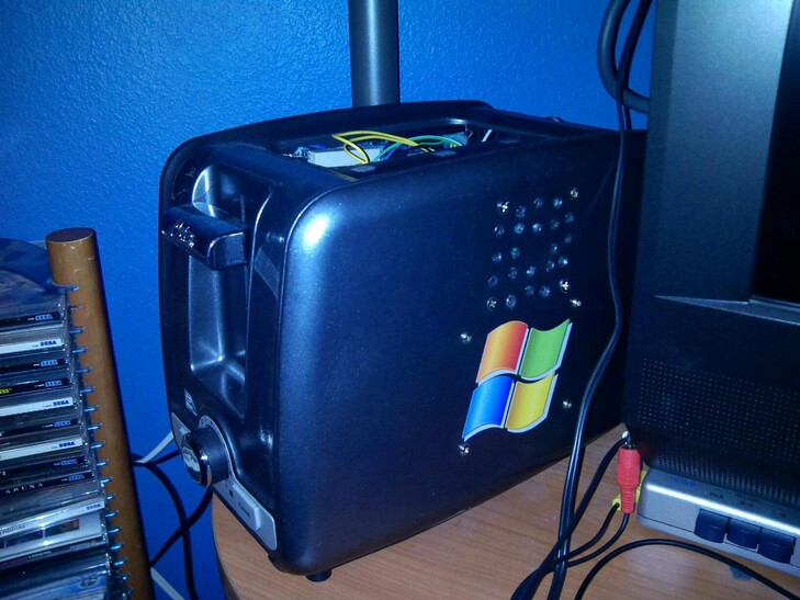 Case Gallery Toaster PC