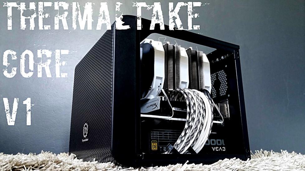 Thermaltake Core V1 Black Techpowerup Case Modding Gallery