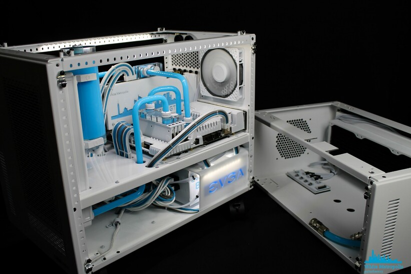 how to set up a water cooling system pc