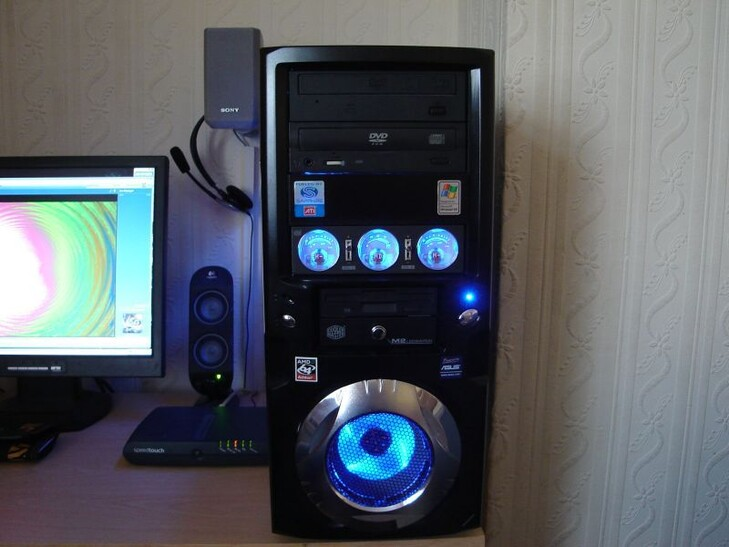 Case Gallery The Blue Beast Techpowerup Forums