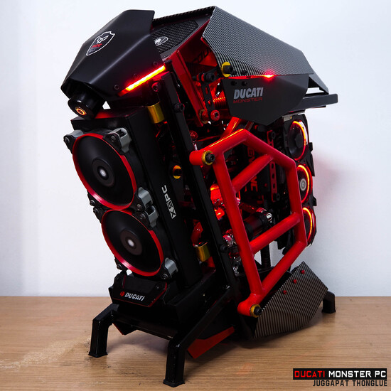 Ducati Monster Pc Techpowerup Case Modding Gallery