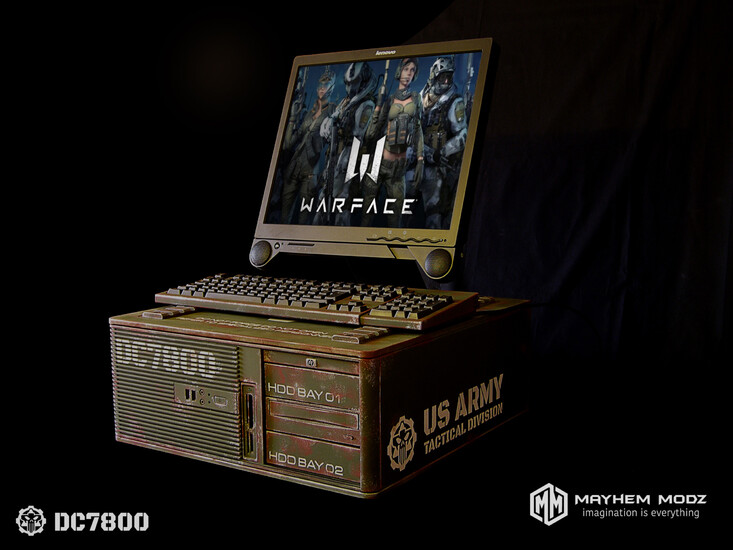 HP DC7800 restyling military casemod | TechPowerUp Forums