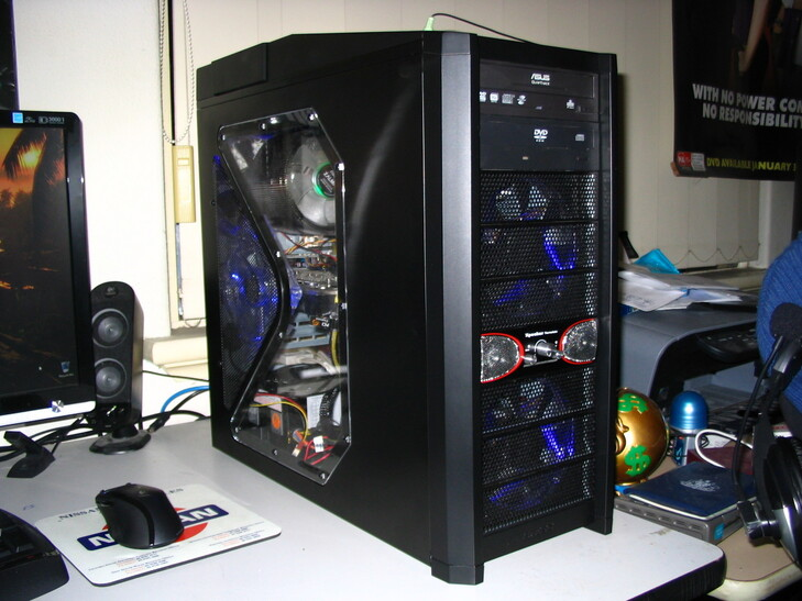 Case Gallery My Antec 900 Gaming Pc Techpowerup Forums