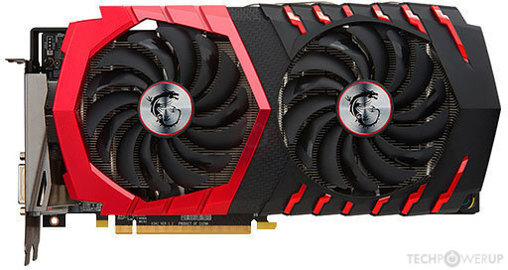 MSI RX 480 GAMING X 8 GB Image