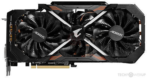 GIGABYTE AORUS GTX 1080 XTREME Edition 11Gbps Image