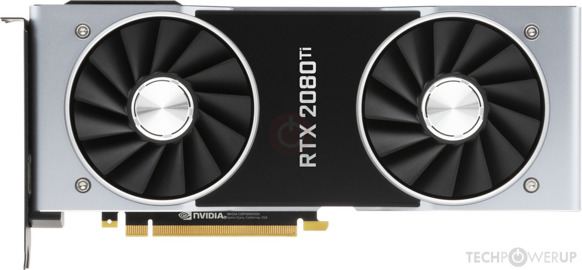 NVIDIA GeForce RTX 2080 Ti Founders Edition Image
