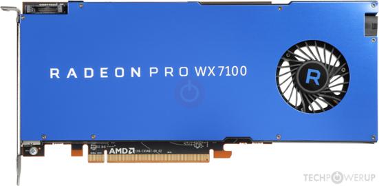 VGA Bios Collection: AMD Raden Pro WX7100 8 GB | TechPowerUp