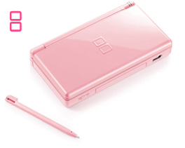 new pink ds lite announced techpowerup. Black Bedroom Furniture Sets. Home Design Ideas