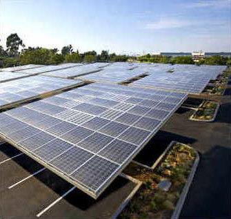 Applied Materials has built a 2.1-megawatt solar panel system on their campus