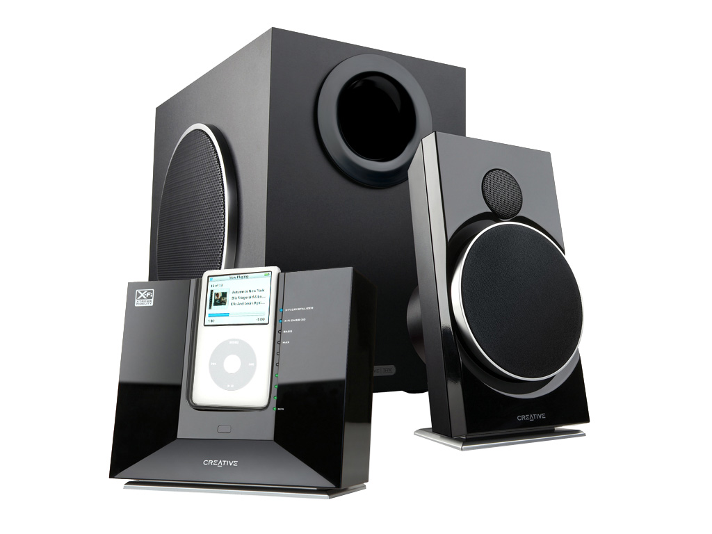 Creative premieres new series of docking speaker systems ...
