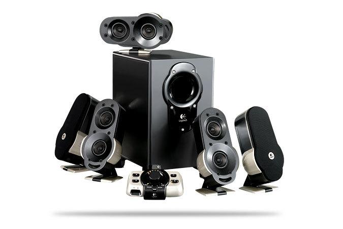 Logitech Unveils G51 5 1 Surround Sound Speaker System
