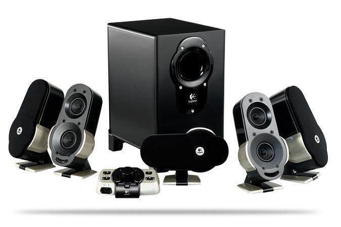 logitech unveils g51 5 1 surround sound speaker system. Black Bedroom Furniture Sets. Home Design Ideas