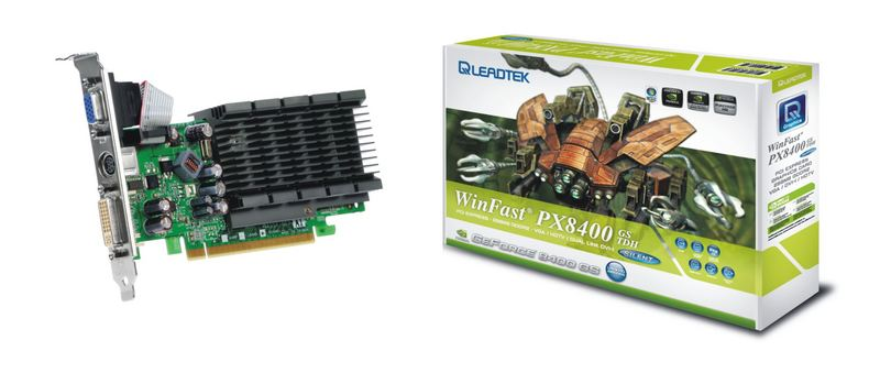 WINFAST PX8400 GS TDH DRIVERS FOR PC