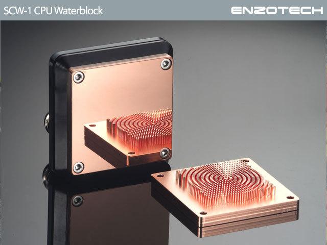 Enzotech Offers New High End Cpu Water Block Techpowerup