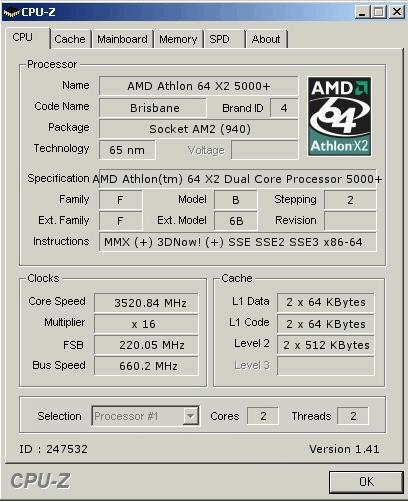 Amd Athlon 64 X2 5000 Black Edition Surprisingly Overclockable Techpowerup