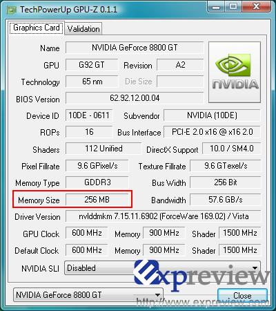 Xfx geforce 8500 gt