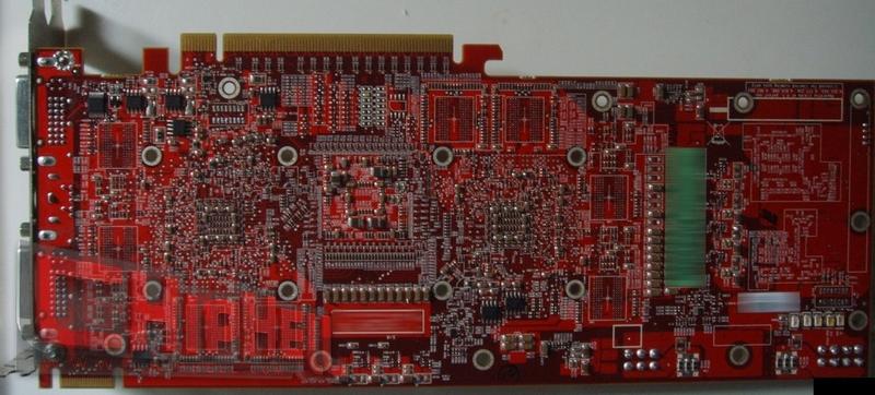 ATI R680 : Immagini del PCB e del Cooling System