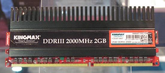 KingMax : DDR3 2Ghz in arrivo