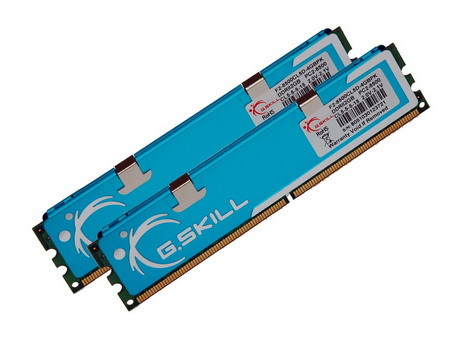 G.Skill : Pcb a 8 layer per il kit 4GB (2x2GB) DDR2-1066 CL5-5-5-15