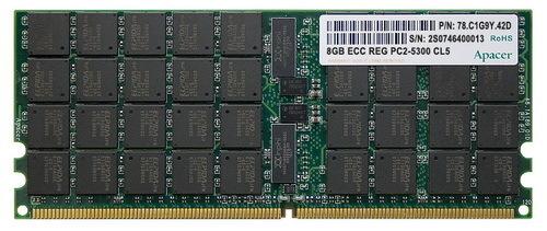 Apacer 8GB DDR2-667 ECC