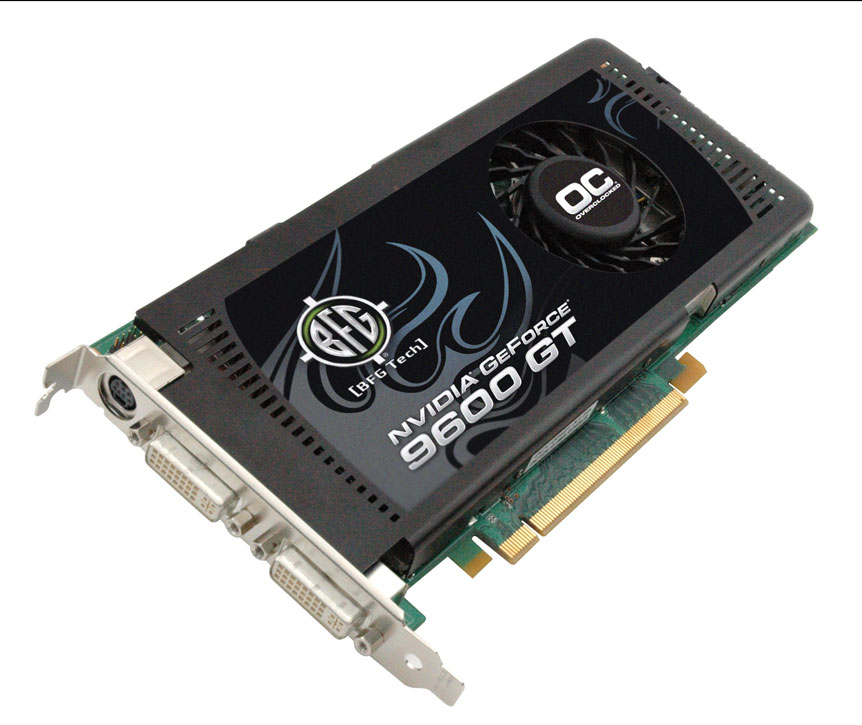 The BFG NVIDIA GeForce 9600 GT OC Offers Users A Great Performing Card At An Affordable Price Said John Malley Senior Director Of Marketing For