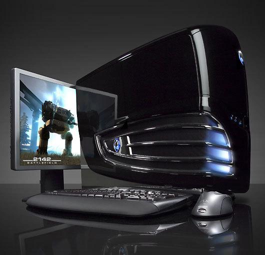 Dell Alienware Area-51 ALX ATI Radeon HD 4870 X2 Display 64 Bit