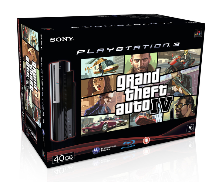 Sony Confirms Official Grand Theft Auto IV PS3 Bundle | TechPowerUp Forums
