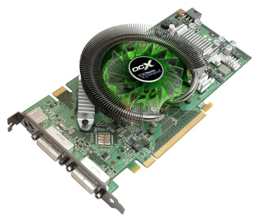 Supplies And Other PC Enthusiast Products Announced Today The BFG GeForce 8800GT OCX 9600GT 512MB PCI Express 20 Graphics Cards