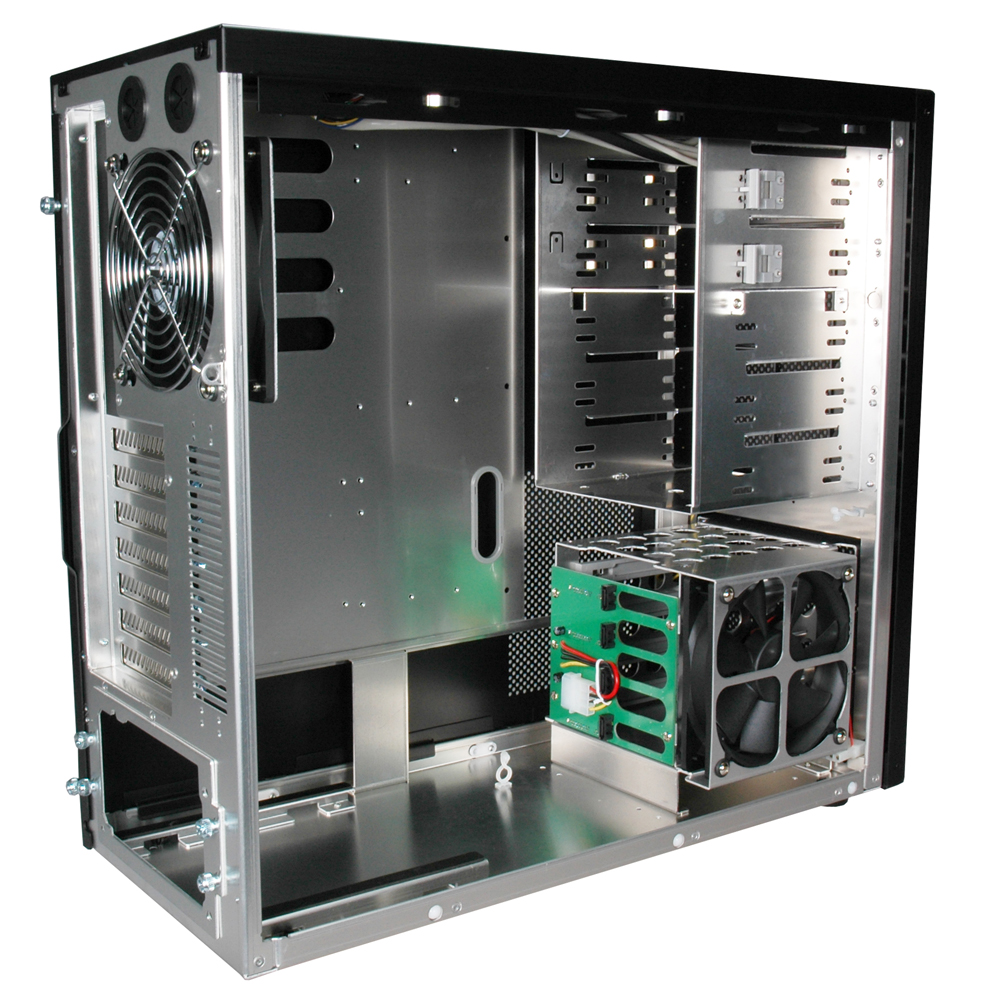 Lian Li Introduces New Pc 9 Mid Tower Aluminum Chassis
