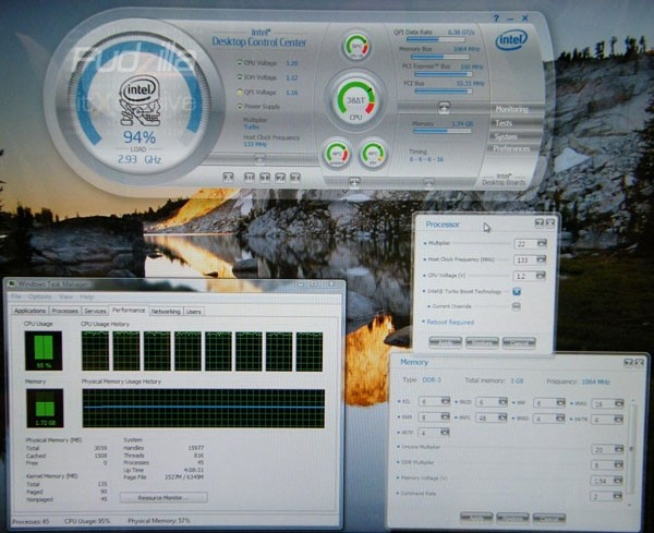 Technology Management Image: Intel Preps Overclocking Application For Its Core I7