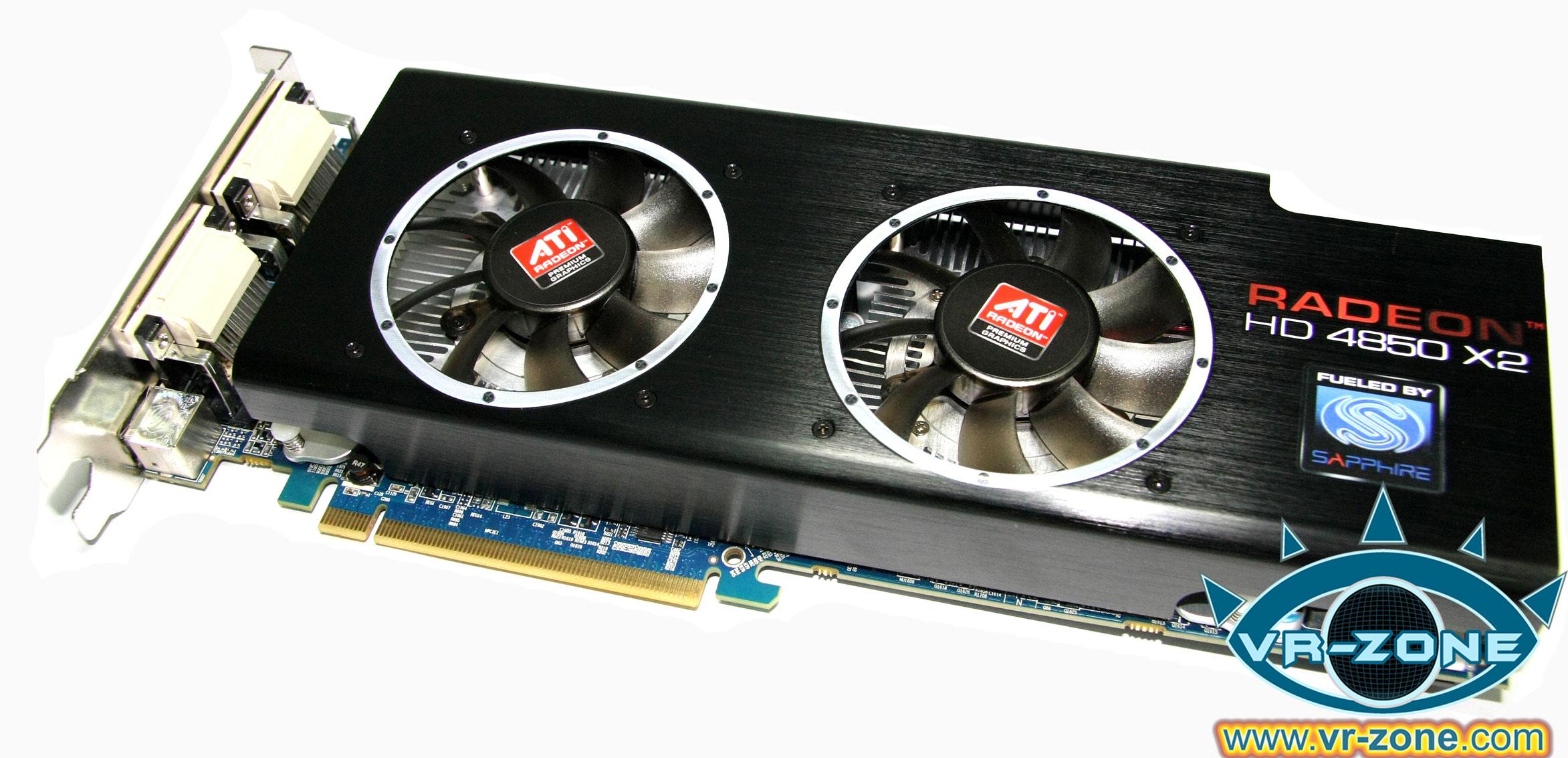 ATI Radeon HD 4850 X2 Catalyst Drivers for PC