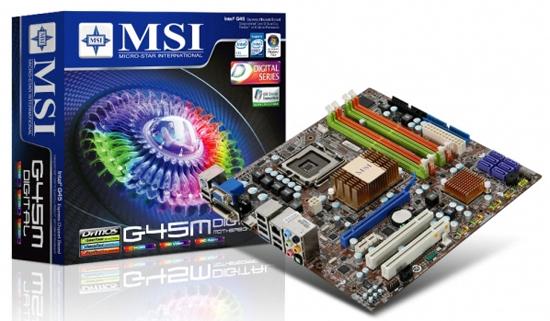 MSI G45M Digital VGA Driver Windows