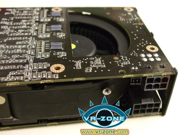 The Card Has A Single SLI Bridge Finger Indicating That It Supports Quad In Same Way GeForce 9800 GX2 Did Maximum Of Two Cards Can Be Used