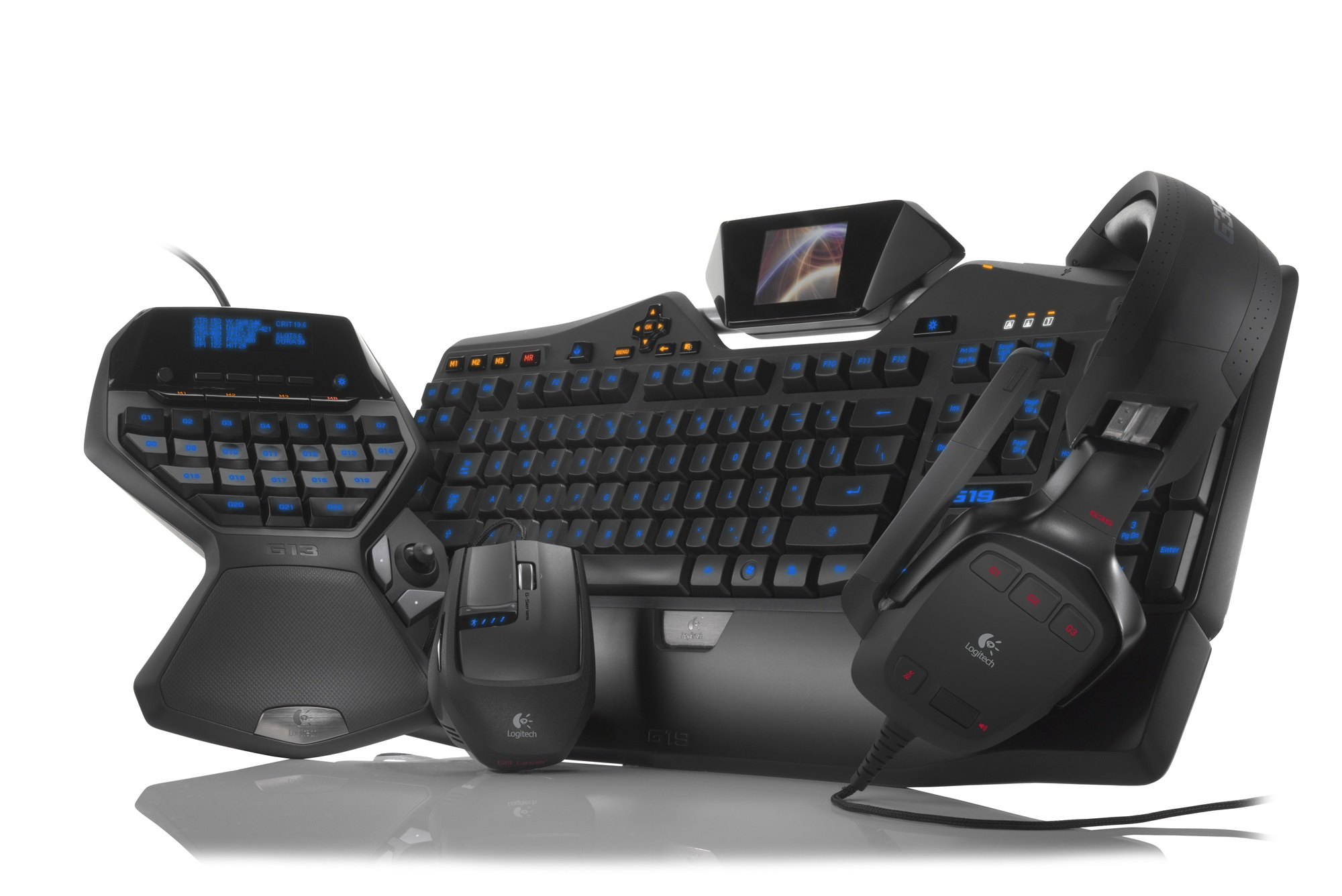 Gaming Keyboard Accessories : new logitech g series peripherals unveiled techpowerup ~ Hamham.info Haus und Dekorationen