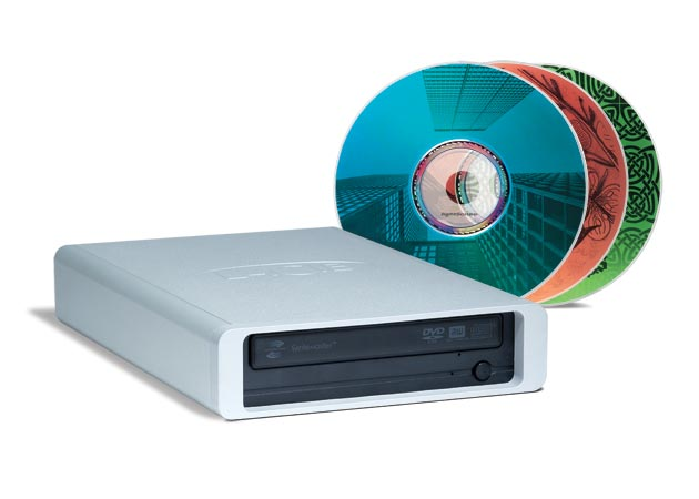 New LaCie FireWire and USB 2.0 External DVD±RW Drive with ...
