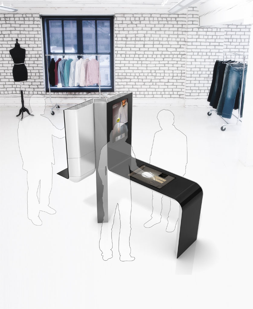 sale technology in a kiosk form factor and demonstrates how technology ...