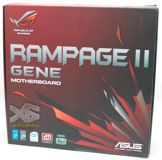 ASUS Rampage II Gene Motherboard Unboxed | techPowerUp