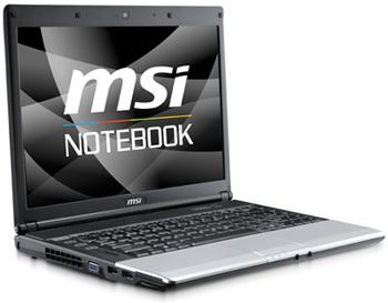 MSI VR430 Notebook Windows 7 64-BIT