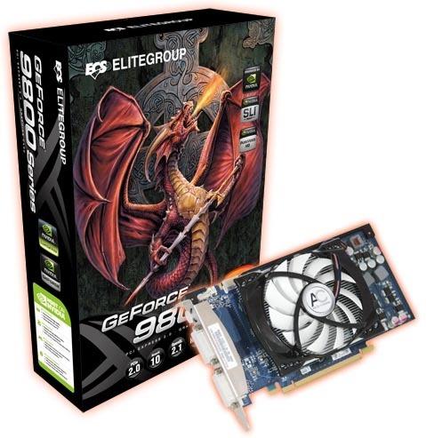 ECS N9600GT-1GMU-P NVIDIA Graphics Descargar Controlador