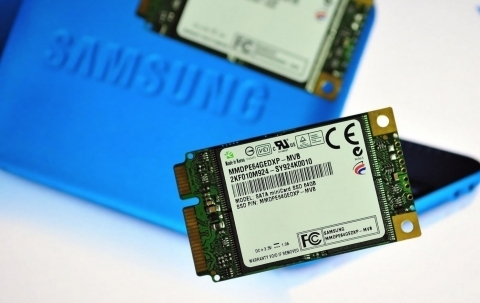 Samsung Develops Solid State Drive With Sata Mini Card Design For