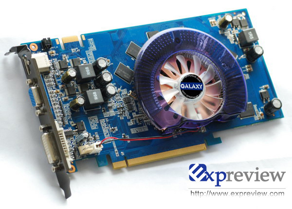 Galaxy Readying Another GeForce 9600 GT Low Power Accelerator