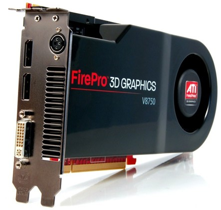 AMD Delivers ATI FirePro V8750, Its Most Powerful