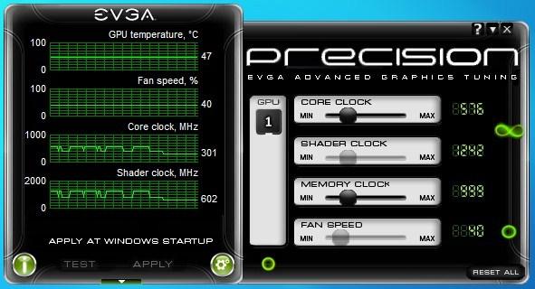 EVGA Precision v1 9 0 Released   TechPowerUp