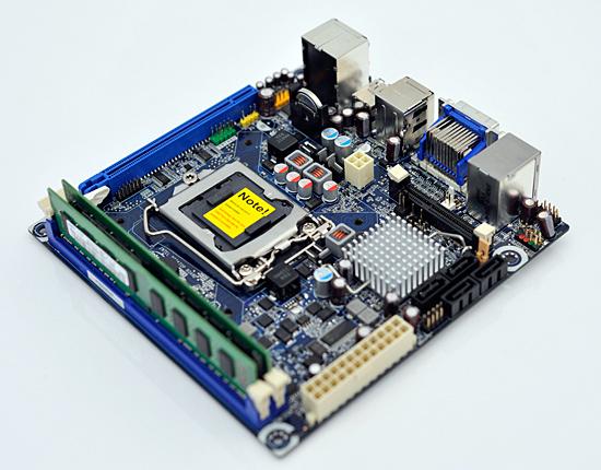 Intel Displays LGA-1156 Mini-ITX Motherboard | TechPowerUp