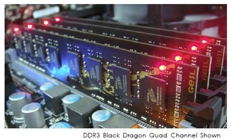 GeIL Announces New DDR3 Gaming Series Black Dragon Triple